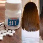 Vitamin B1 kích thích mọc tóc