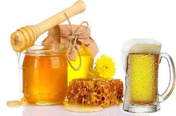 Cách gội đầu bằng bia và mật ong