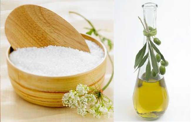 Cách trị chấy bằng muối và dầu oliu