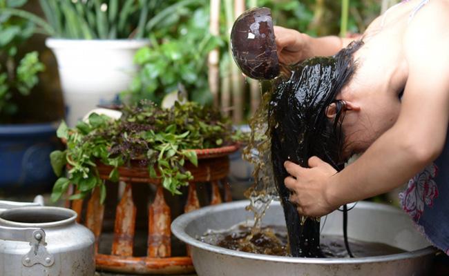 Kích thích mọc tóc bằng nguyên liệu tự nhiên