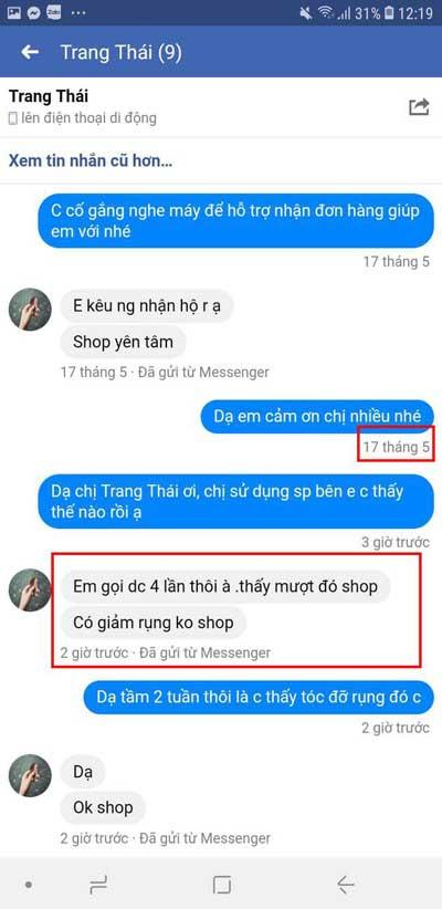 Sản phẩm Nàng Ơi Thiên Nhiên Việt có tốt không