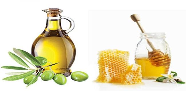 Ủ tóc bằng dầu oliu và mật ong phục hồi tóc hư tổn