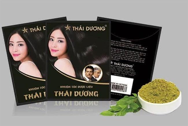 Nhuộm đen tóc thảo dược Thái Dương