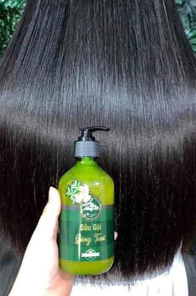 Review hiệu quả dưỡng tóc của dầu gội Nàng Ơi